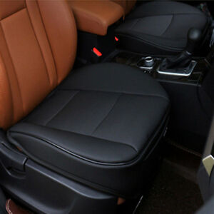 Black PU Leather 3D Full Surround Car Seat Protector Seat Cover Accessories