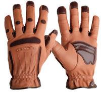 Bionic Tough Pro Garden/Landscape Gloves. Premium Quality & Durability. Leather