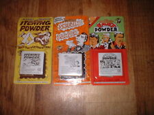 3 Classic Joke Tricks.Extra Strong Itching Powder/Sneezing Powder/Fart Powder