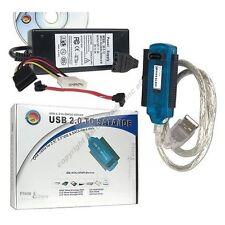"""USB 2.0~3way:SATA+IDE/PATA 2.5/3.5/5.25"""" Drive Cable/Cord Adapter,no enclosure"""