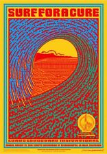 "Surf For A Cure HANDBill Luau & Longboard International Hamersveld 5"" X 7"" Inch"