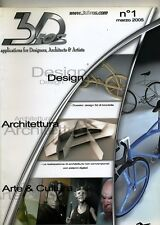 3D BROS #Numero 1 - Applications for Designer Architects & Artists # Marzo 2005