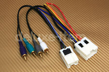 Premium Sound System Wiring Harness For Installing Aftermarket Car Stereo Radio