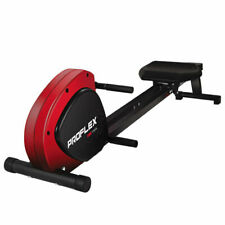 PROFLEX Rowing Machine Workout Seated Exercise Indoor Rower Gym Fitness Compact