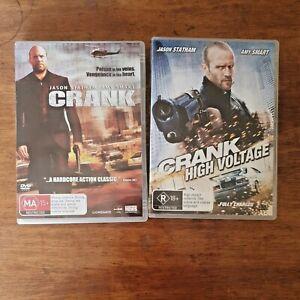 Crank + Crank High Voltage DVD R4 Like New! FREE POST
