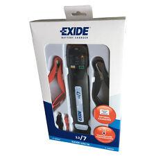 Exide Batterieladegerät 12V 7A 12/7A Schnellladung Vollautomatisch Beleuchtung
