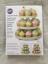 Wilton Cardboard Cupcake Stand Kit - Generic, Simple Design! NIB! SEALED
