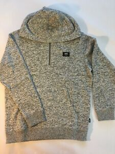 Vans New Flurry III Lunar Rock Hooded Pullover Sweatshirt Youth Boy's Medium
