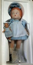 "Effanbee 14"" Porcelain Patsy Doll with Vinyl Wee Patsy NEW"