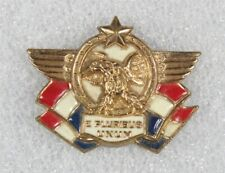 WWII Home Front - Kay Dunhill Patriotic enameled brooch/pin by Accessocraft