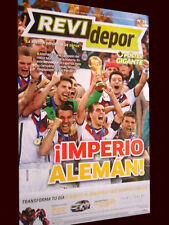 FIFA WORLD CUP BRAZIL 2014 GERMANY Champion Magazine/Poster  PERU !!