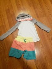Cat & Jack Swimsuit 2-piece Boys Size 5T- Adorable!