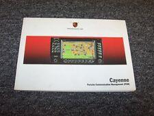 2004 Porsche Cayenne Navigation System Owner Owner's Operator Manual S 4.5L V8
