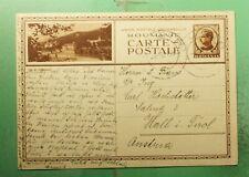 DR WHO 1935 ROMANIA CUGIR POSTAL CARD TO AUSTRIA  g38968