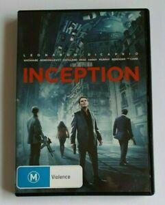 INCEPTION - USED REGION 4 DVD