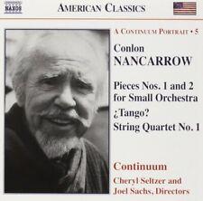 Nancarrow: Pieces Nos. 1 & 2; ¿Tango?; String Quartet No. 1 - CD SEALED NEW