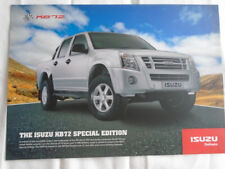 Isuzu KB 72 Special Edition brochure c2000's South African market