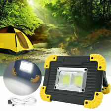 Bright Led Rechargeable Cordless Work Light Outdoor Camping Lamp Floodlight Us