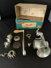 Vintage Universal Food and Meat Chopper in Original Box