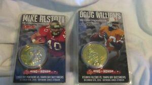 ©2015 NFL Tampa Bay Buccaneers Mike Alstott & Doug Williams Ring of Honor Coins