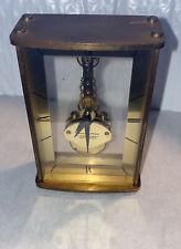 Vintage Hamilton Skeleton 7 Jewels 8 Day Kaiser West Germany Antique Clock