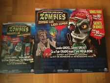 Doctor Dreadful Zombies Zombie Lab, Snot Shot, Parasite Lab Kit BB October 2019