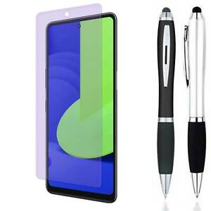 Pen + Anti Blue Light Tempered Glass Screen Protector For LG Stylo 7 (2021) / 5G