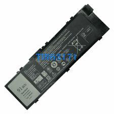 91Wh MFKVP Battery For Precision 15 7510 17 7710 M7710 GR5D3 RDYCT TWCPG 0TWCPG