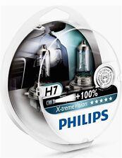 2 AMPOULES H7 PHILIPS X-TREME VISION +100% 12V 55W TOUS H7