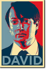 DAVID MITCHELL ART PHOTO PRINT (OBAMA HOPE) POSTER GIFT PEEP SHOW