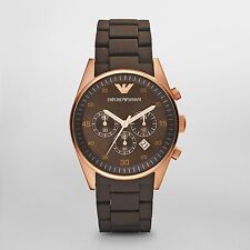 Emporio Armani AR5890 Men's Watch Quartz Brown Dial Men's Watch