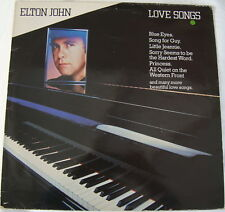 Elton John - Love Songs - TV Records TVA 3