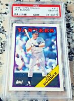 JAY BUHNER 1988 Topps Rookie Card RC PSA 10 Yankees Seattle Mariners 310 HRs $