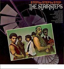 """FIVE STAIRSTEPS & CUBIE""""STEP by STEP""""~ """"VG+""""~ORIG.U.S. PRESS~BDM-1008~LP!!!"""