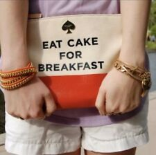 Kate Spade New York Eat Cake For Breakfast Call to Action Gia Pouch Purse Bag