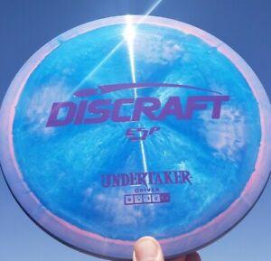 New Discraft ESP UNDERTAKER 174g Super Swirly Blue Pink Matte Purple