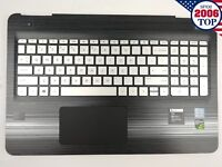 HP Pavilion 15-BC Palmrest w/ Backlit Keyboard & Touchpad 858971-001