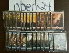 135 FULL ART LANDS MAGIC THE GATHERING LOT BATTLE FOR ZENDIKAR FREE SHIPPING