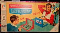 Original Milton Bradley Board Game Battleship Vintage 1967 (4730)