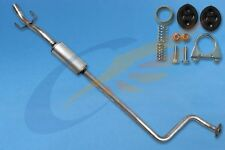 TOYOTA YARIS 1.0 16V Hatchback 1999-2005 Exhaust Central Silencer + mountings