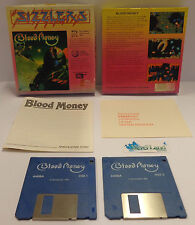 Play Gioco Game CBM Commodore AMIGA 2 Disk Disco Psygnosis 1989 - BLOOD MONEY -