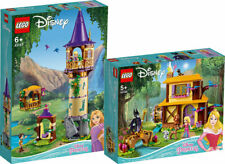 LEGO Disney Princess 43187 Rapunzels Turm 43188 Auroras Hütte N9/20
