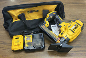 DEWALT Xr DCN682 20V Cordless 18-Gauge Flooring Stapler- Battery And Charger