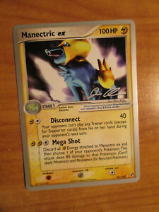 NM WC-2006 Pokemon MANECTRIC EX Card DEOXYS Set 101/107 Rare World Championships