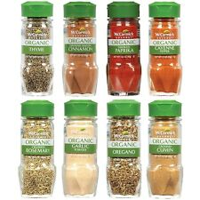 McCormick Gourmet Organic Spice Rack Refill Variety Pack 8 count Free Shipping