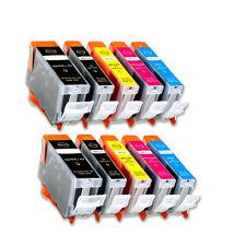 10 New Ink Set use for Canon PGI-5 CLI-8 (BK B C M Y) Pixma ip4300 MP500 MP530