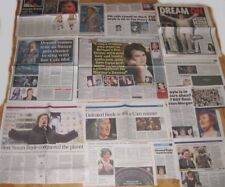SUSAN BOYLE clipping / cuttings UK newspapers