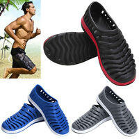Adults Casual Slide Slip-on Summer Slipper Loafer Beach Hollow Out Sandal Shoes