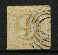 (YYAO 342) Thurn and Taxis 1865 USED Mich 44 Scott 59 Germany