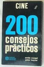 CINE - 200 CONSEJOS PRÁCTICOS - VARIOS AUTORES - PARRAMÓN 1979 - VER ÍNDICE
